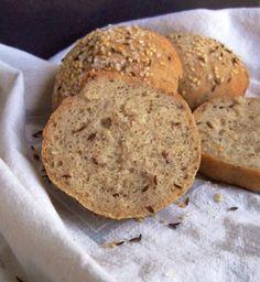Seeded Gluten Free Buns