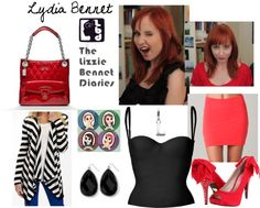Lydia Bennet - Lizzie Bennet Diaries, created by melloen on Polyvore