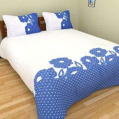 New Design Embroidery And Applique Beautiful Bed Sheet . Best Designs Of Applique Bed Sheets Aplic Work Bed Cover . Home and Family Boys Bedding Sets, Cheap Bedding Sets, Queen Bedding Sets, Boy Bedding, Draps Design, Bed Cover Design, Designer Bed Sheets, Patchwork Cushion, Applique Quilts
