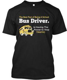 Ltd. Edition - School Bus Driver | Teespring