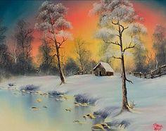 Winter Elegance~ Bob Ross