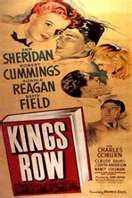 Kings Row (1942). The dark side and hypocrisy of provincial American life is seen through the eyes of five children as they grow to adulthood at the turn-of-the-century. Stars a very young Ronald Reagan! Good melodrama. Bet you haven't heard of this one!