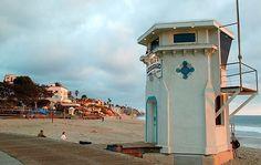 Laguna Beach Lifeguard Station California  #lagunalifeguards #california