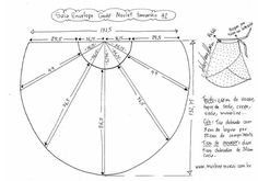 We sew a skirt, and maybe everything ! Discussion on LiveInternet - Russian Online Diaries Service Skirt Patterns Sewing, Craft Patterns, Clothing Patterns, Easy Patterns, Crochet Crafts, Sewing Crafts, Sewing Projects, Sewing Clothes, Diy Clothes