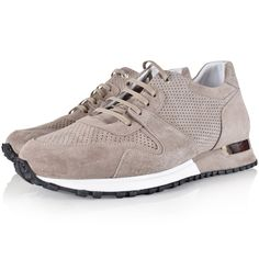 MALLET FOOTWEAR Mallet Footwear Grey Suede Almorah Trainers - Men from Brother2Brother UK
