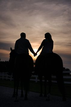 horses/ most of all the hand holding..sweet, sweet./bb