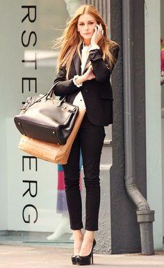 lovely black suit