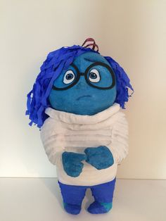 Pinata SadnessInside out cartoon by BabalinaWorld on Etsy