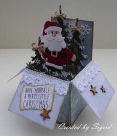 Santa in a Box by Sigrid