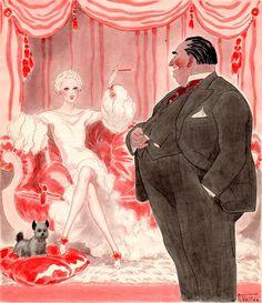 Armand Vallée (1884 – 1960). Printemps. Gouache, 22.5 x 26 cm. [Pinned 3-x-2015]
