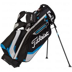 Leist 2017 Lightweight Stand Bag Black Silver Light Blue Tb5sx6104 Galaxy 5 Vintage