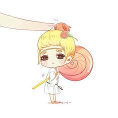 Fan art SNSD Girls Generation Taeyeon (Channel SNSD)
