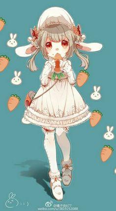 밀크티 토끼