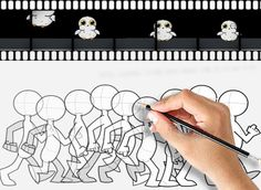 such as through traditional cel animation or in computerized animation History Of Animation, Urban, Cartoon, Traditional, 2d, Beautiful, Design, Cartoons