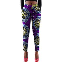 Gender:WomenClosure Type:Elastic WaistDecoration:Pattern,NoneBrand Name:RUBULength:Full LengthWaist Type:MidPant Style:StraightFront Style:FlatMaterial:Polyester,CottonPattern Type:PrintModel Type:BatikFit Type:RegularStyle:CasualTime of African Attire For Men, African Women, African Fashion, African Style, Dashiki, Women Pants, Long Pants, Office Wear, Fashion Pants