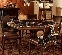 """""""Game Time""""  a poker table need at least three of these...for game night."""