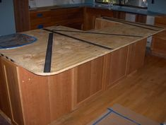 1000 images about cantilever on pinterest plywood How to support granite overhang