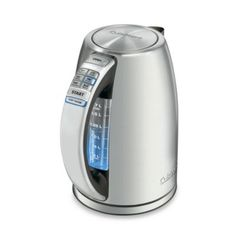 Cuisinart® PerfecTemp®™ Stainless Steel Electric Kettle - BedBathandBeyond.com     I want to purchase for my mother in-law!!!