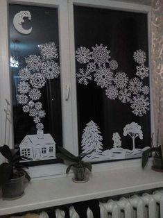 Diy Christmas Fireplace, Christmas Open House, Cosy Christmas, Outdoor Christmas, Kids Christmas, Christmas Doodles, Christmas Stencils, Christmas Paper Crafts, Christmas Drawing