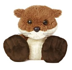 Aurora World Taddle Toes Chit Chat Squirrel Plush 10 Tall ** Click image for more details.