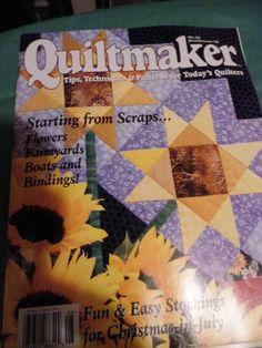 Quiltmaker Magazine  J/A 1997