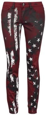 Very #justinhawkins love these Rebel by EMP  Cloth Trousers  »Flag Pants« | Buy now at EMP | More Basics  Cloth trousers  available online ✓ Unbeatable prices!