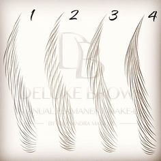 Different hair-strokes patterns. Which one do you prefer? #deluxebrows #manualpermanentmakeup #microbladingtraining #microblading #hairtemplates #manualshading #ombrebrows #hairstrokes #strokestemplates