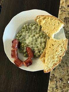 Eszter mentes konyhája: Glutén és laktózmentes zöldborsó főzelék egyszerűe... Gluten, Bread, Food, Brot, Essen, Baking, Meals, Breads, Buns