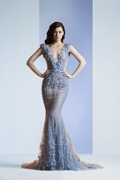 This Zlad Nakad one works, too. | 35 Wedding Gowns Every Disney Obsessed Bride Will Love