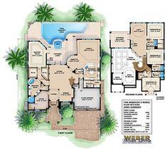 Morocco II Floor Plan by Weber Design Group