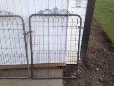 Details About Lot Of 7 Antique Woven Wire Garden Gates