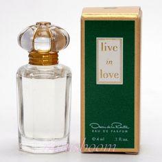 Mini Perfume LIVE IN LOVE Eau de Parfum 0.13 Oz 4 Ml Miniature Bottle New in Box