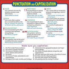Laminate this sheet and display it on a classroom bulletin board in your math center. Duplicate on card stock paper as an individual student reference card. Add to students' math journals and or math folders to create individual reference books. English Grammar Rules, Grammar And Punctuation, Learn English Grammar, Math Folders, Writing Folders, Teaching Phonics, Phonics Worksheets, Text Based Evidence, Math Charts