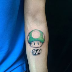 1UP Mushroom from Nintendo Super Mario Bros.