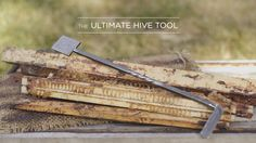 How to use the Ultimate Hive Tool, an absolute necessity for any and all beekeepers, hand-forged right here in Portland, Oregon.
