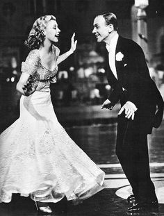 Fred and Ginger.before 1933 no really distinguished dancers had appeared on screen, and dance routines were clumsily filmed and directed - When Astaire and Rogers got up to dance it was the first time movie audiences had seen anything like it - a man and a woman dancing together with style, elegance, humour, apparent spontaneity and obvious rapport.