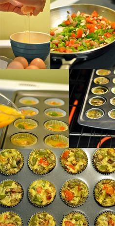 Dr. Dan Kehres health blog   Midland Chiropractor   Saginaw Chiropractor: Recipe: Mini Egg Muffins [paleo]