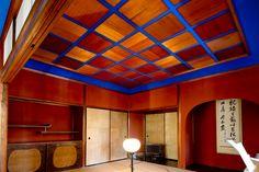 Gunjyo-no-ma (a tea‐ceremony room in ultramarine) #Seisonkaku #Kanazawa #Japan
