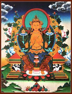 Maitreya Thangka Painting
