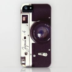 Zorki vintage camera iPhone Case by Bomobob - $35.00