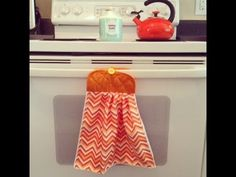 Dollar Tree Crafts: Pot Holder Dish Towel Sewing Tutorial