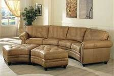 Captivating Small Curved Sectional