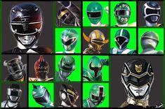 20 Years Of Green Black power rangers by scottasl.deviantart.com on @deviantART