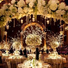 Salute to over the top wedding productions. Design by @Tantawan Bloom New York City Tantawan Bloom  #wedding #weddingdecor #weddinginspiration #weddingcenterpieces #engaged #bride #bridetobe #weddingplanning #2014wedding #wedding #imgettingmarried #weddingcountdown