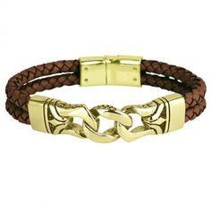 Men's black gold jewelry is a little more rare than other types of jewelry. Learn what makes this jewelry more unique than most other types of jewelry. Mens Gold Bracelets, Black Bracelets, Fashion Bracelets, Bracelet Men, Leather Bracelets, Diamond Bracelets, Men Necklace, Black Gold Jewelry, Leather Jewelry