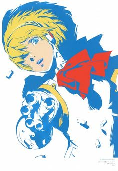 Shigenori Soejima, Soejima Shigenori Artworks 2004-2010, Shin Megami Tensei: Persona 3, Aegis