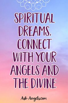 Dreaming is an incredibly powerful way to directly connect with spiritual guidance. During dreamtime your mind is still and quiet, and you have plenty of focused time to directly connect with the Divine. Out Of Body, Psychic Development, Spiritual Guidance, Psychic Abilities, Third Eye, Intuition, Connection, Spirituality, Mindfulness