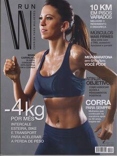 Revista W Run com a Materia sobre corrida para Mulheres de Rogerio cardoso da FIT LABORE!
