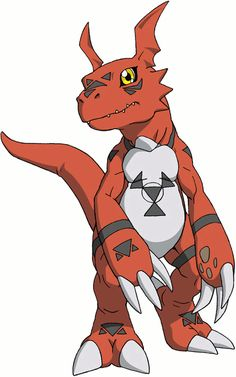 Guilmon, one of my favorites from the entire franchise.