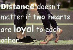 Distance doesn't matter. #lovequotes #love www.spice4life.co.za